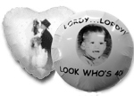 Photo Balloons - Add an extra personal touch by having a picture of your loved ones printed right on your balloons.